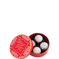 Lattice Collection Milk and Pink Marc de Champagne Truffles 44g