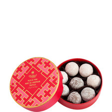 Lattice Collection Milk and Pink Marc de Champagne Truffles 135g