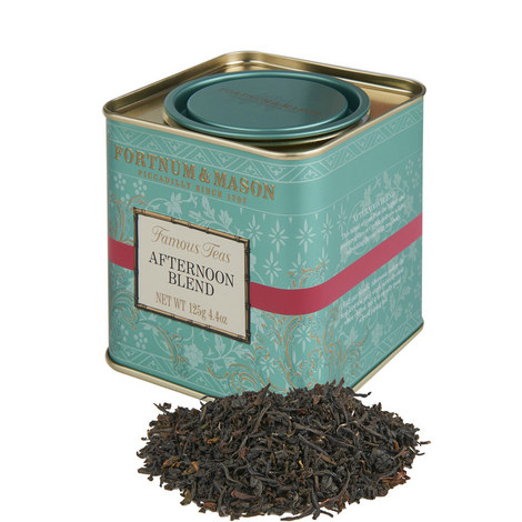 Afternoon Blend Tea Tin, ${color}