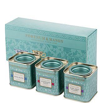 Three Mini Famous Teas