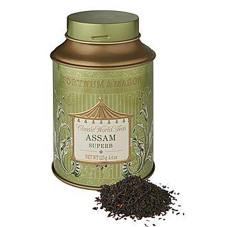 Assam Superb Round Tea Tin