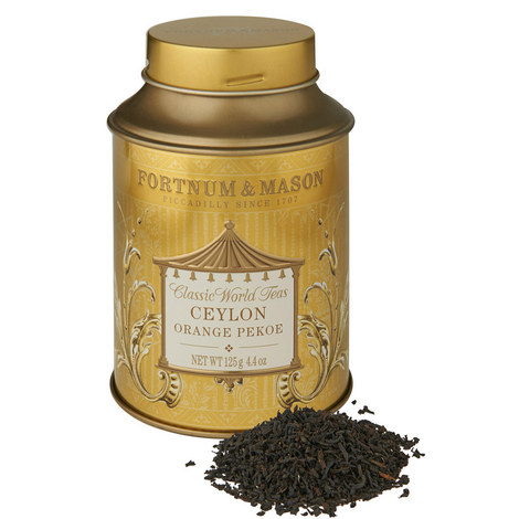 Ceylon Orange Pekoe Round Tea Tin, ${color}