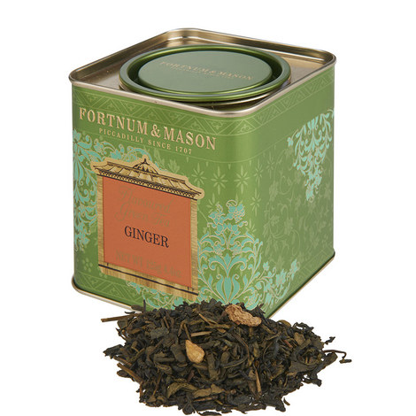 Green Tea with Ginger Tin 125g, ${color}