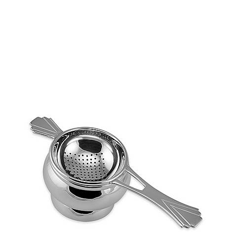 Silver Plated Tea Strainer, ${color}