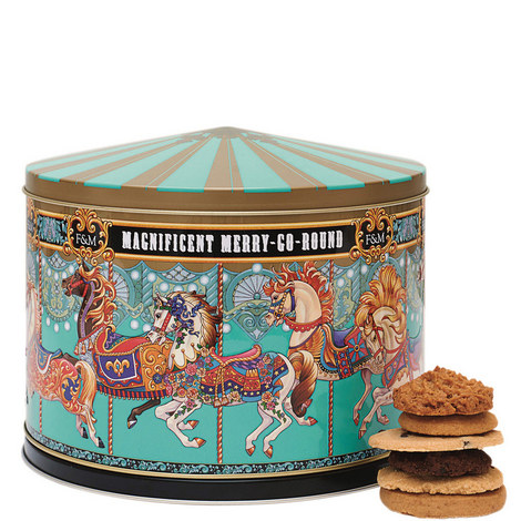 Merry Go Round Musical Biscuit Tin, ${color}