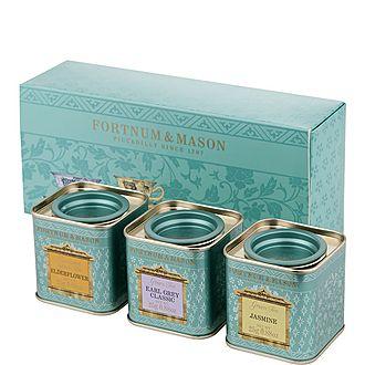 Three Mini Green Teas