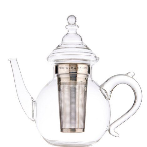 6-Cup Oriental Glass Teapot, ${color}