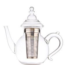 6-Cup Oriental Glass Teapot