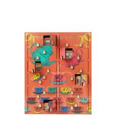 Wooden Tea Advent Calendar 210g