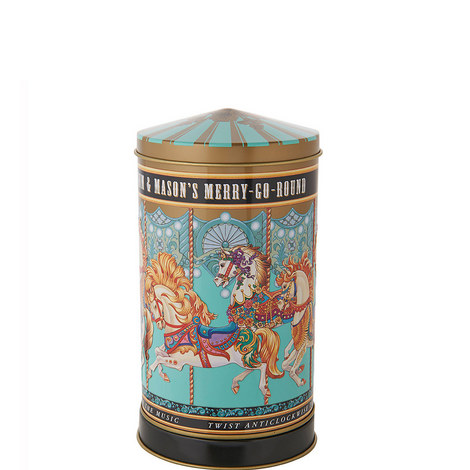Merry Go Round Musical Biscuit Tin 220g, ${color}