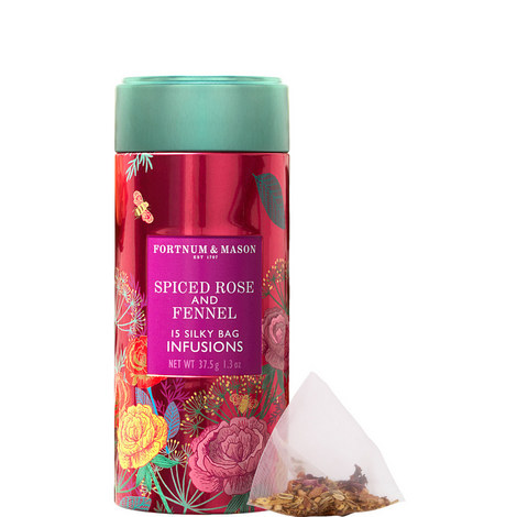 Infusions Spiced Rose and Fennel Tea, ${color}