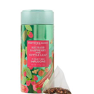 Infusions Rhubarb, Raspberry and Nettle Tea