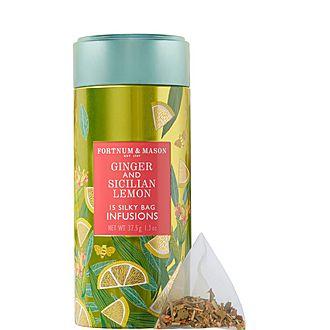 Infusions Ginger and Sicilian Lemon Tea