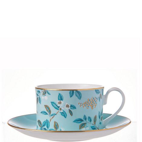 Camellia Tea Cup and Saucer, ${color}
