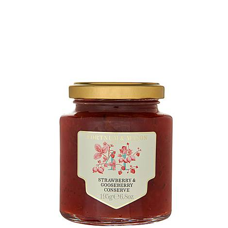 Strawberry and Gooseberry Preserve 195g, ${color}