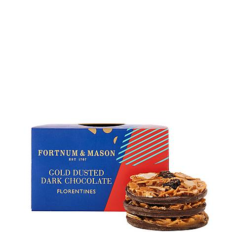 Gold Dusted Dark Chocolate Florentines 160g, ${color}
