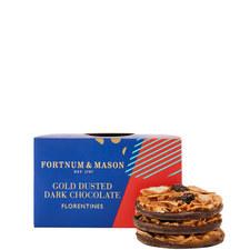 Gold Dusted Dark Chocolate Florentines 160g