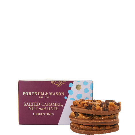 Salted Caramel, Nut and Date Florentines 160g, ${color}