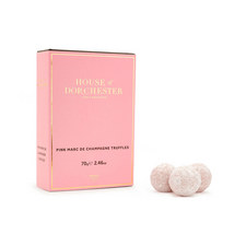 Pink Marc de Champagne Truffles 75g