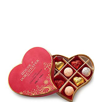 Heart Luxury Chocolate Selection Box
