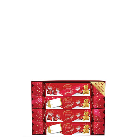 Set of 4 Luxury Crackers 340g, ${color}
