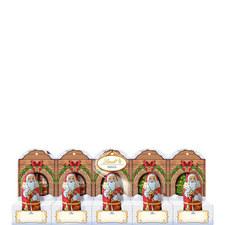Mini Santa Milk Perforated 5 Pack