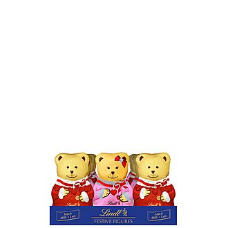 Milk Chocolate Christmas Teddies 100g