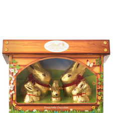 Golden Bunny and Family Hutch
