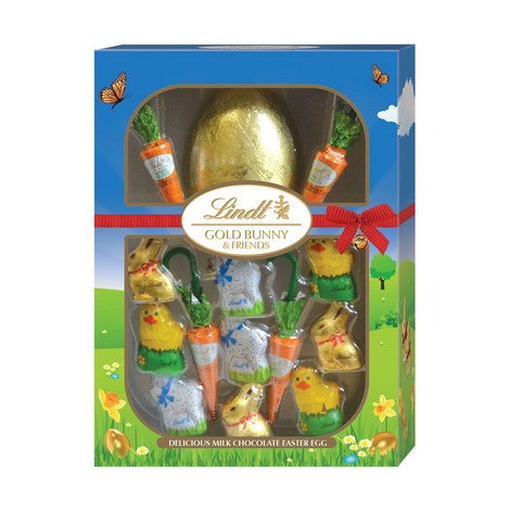 Gold Easter Bunny and Friends 240g, ${color}