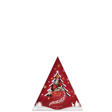 Lindor Christmas Tree Milk Chocolate 125g, ${color}