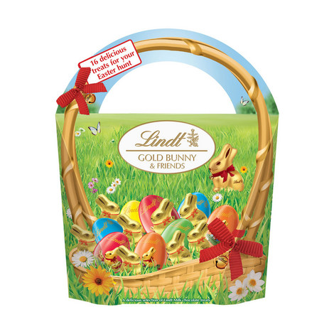 Gold Easter Bunny and Friends 160g, ${color}