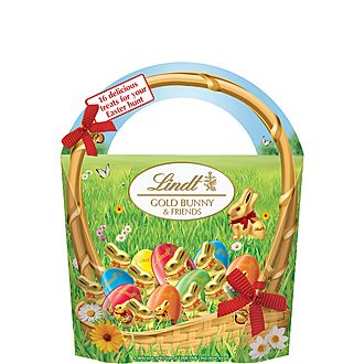 Gold Easter Bunny and Friends 160g
