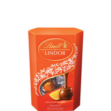 Lindor Orange Chocolate Truffles 200g