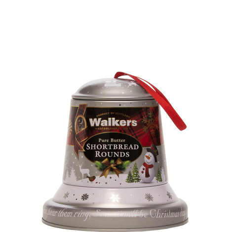 Shortbread Christmas Bell Tin 100g, ${color}