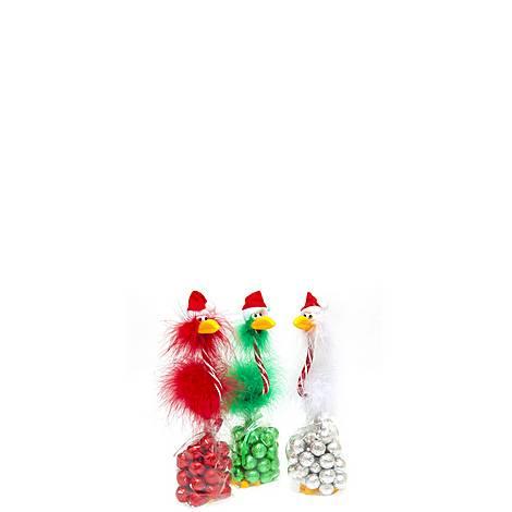 Christmas Birds Pens and Chocolates, ${color}