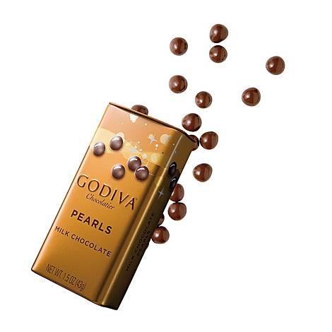 Milk Chocolate Crispy Mini Pearls 35g, ${color}