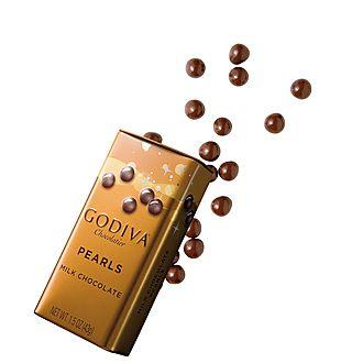 Milk Chocolate Crispy Mini Pearls 35g