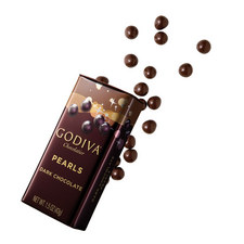 Dark Chocolate Crispy Mini Pearls 35g