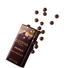 Dark Chocolate Crispy Mini Pearls 35g