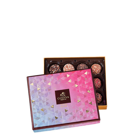 12-Piece Chocolate Truffle Delight Gift Box, ${color}