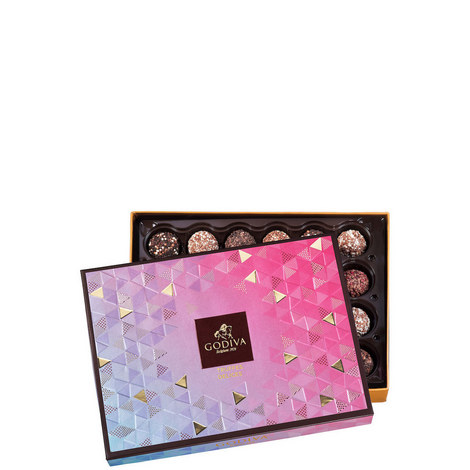 24-Piece Chocolate Truffle Delight Gift Box, ${color}