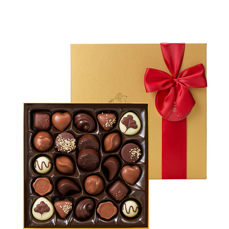 24 Piece Holiday Chocolate Box, ${color}