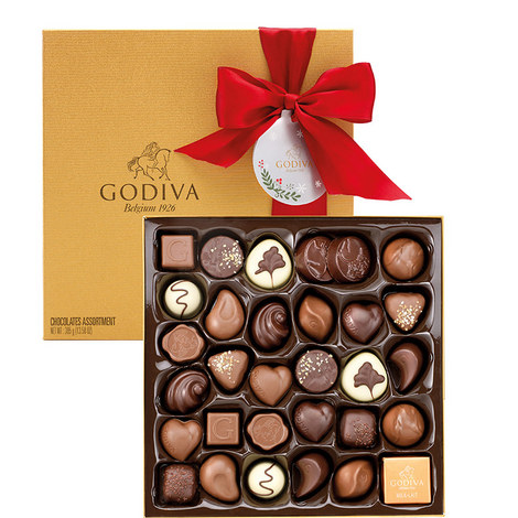 34 Piece Holiday Chocolate Box, ${color}