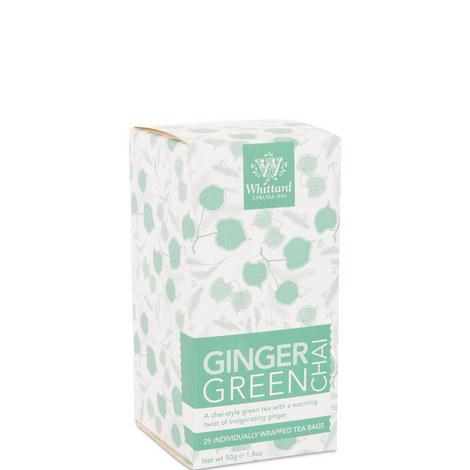 Ginger Green Chai Tea, ${color}