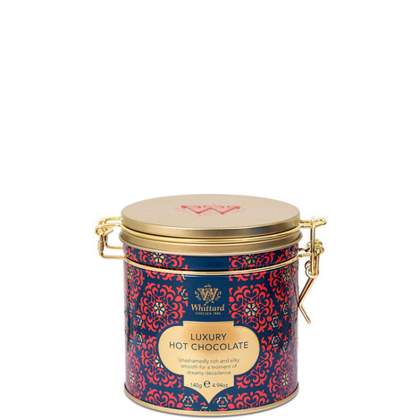 Luxury Hot Chocolate Clip Tin 140g, ${color}