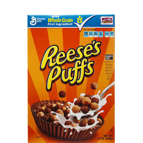 Reeses Puffs Cereal 368g, ${color}