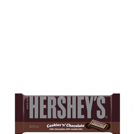 Cookies 'n' Chocolate Bar 43g, ${color}