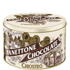 Chocolate Panettone Tin