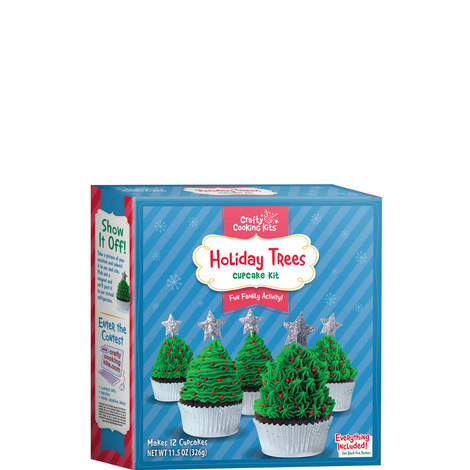 Christmas Tree Cupcake Kit, ${color}