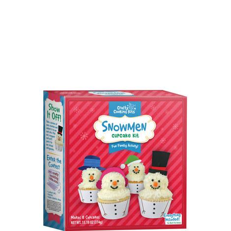 Christmas Snowman Cupcake Kit, ${color}